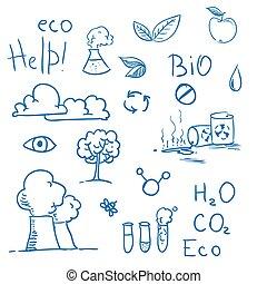 Set of Eco symbols
