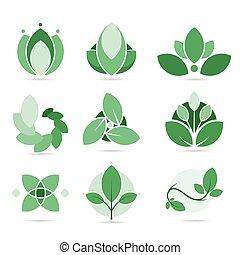 set of ecology logo