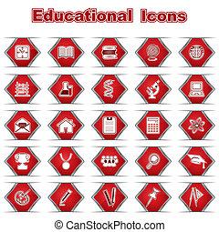 Set of Educational Icons