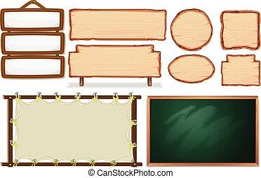 Set of empty board