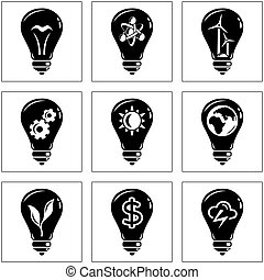 Set of energy concepts