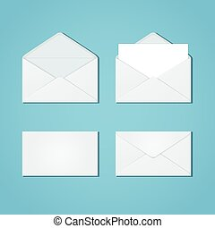 Set of envelope forms
