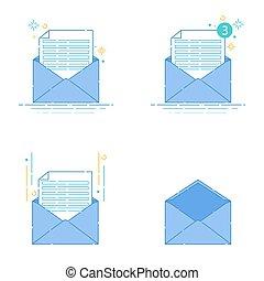 Set of envelopes