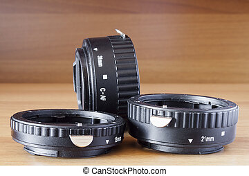 set of extension tubes macro
