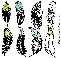 Feathers - Set of Feathers