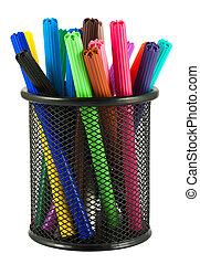 Set of felt-tip pens