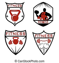 set of fitness labels