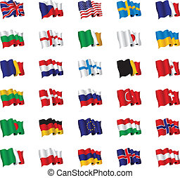 flags - set of flags