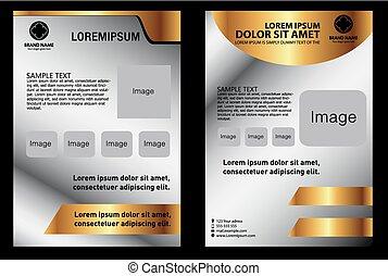 Set of Flyer Design, Brochure