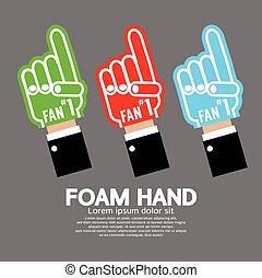 Set Of Foam Hand.