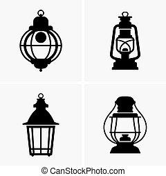 Lanterns - Set of four Lanterns