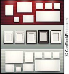 frame banner for facebook Poster vector Design