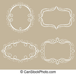 set of frames decorative