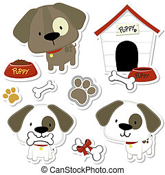 funny baby dogs and puppy elements