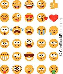 Set of funny Emoticons