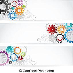 set of gears banner