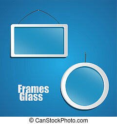 set of glass frame