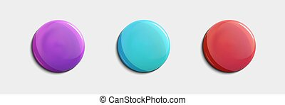 Set of glossy sale button or badge. Product promotions. Super sale, vector.