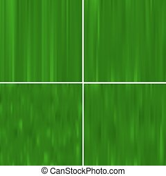 set of green colored striped decorative backgrounds