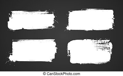 Set of grunge banners for your design