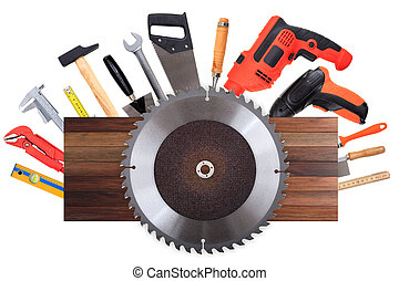 Set of hand tools