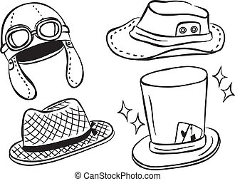 set of hat