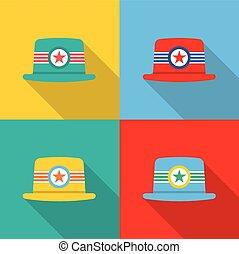 Set of Hats.