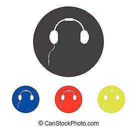 set of headphones