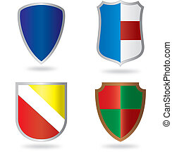 Set of heraldry