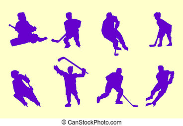 set of hockey