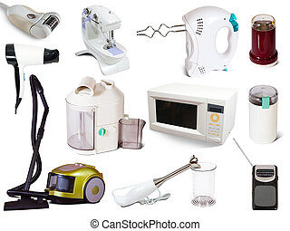Set of household appliances - Set of household appliances....