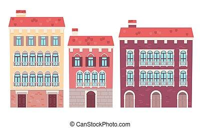 Set of houses Venice