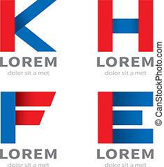 set of icon type