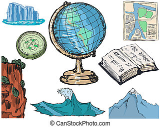 geography related objects