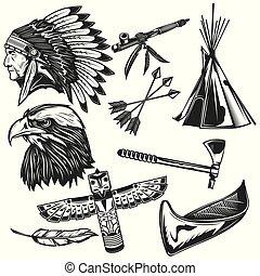 Set of indian elements