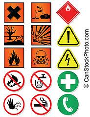 Set of international sign. - Vector illustration set of...