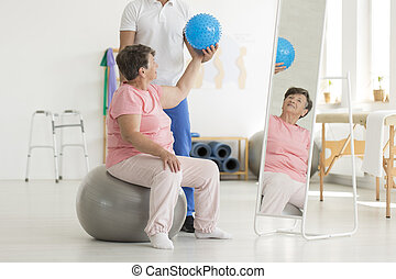 Set of isometric balance exercises