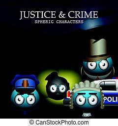 Set of justice emotes