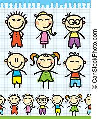 set of kids