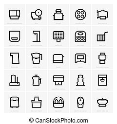 Kitchen icons - Set of Kitchen icons