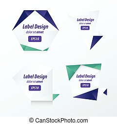 Set Of Label Vector Design