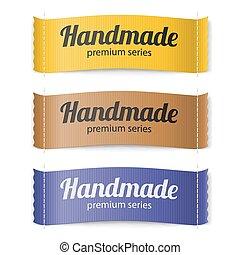 Labels Handmade series