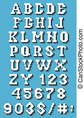 set of letters and numbers in the p