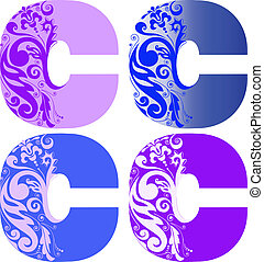 set of letters C