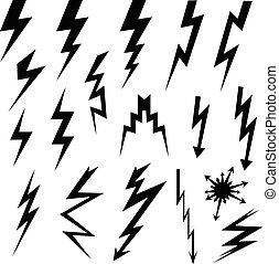 Set of lightning