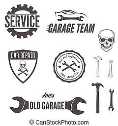 Set of logo, badge, emblem and logotype element for...