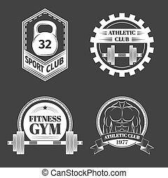 Set of Logo for sport athletic club