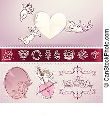 Set of love vector elements