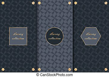 Set of luxury backgrounds - A set of luxurious backgrounds...