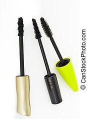 mascara brushes - set of mascara brushes isolated